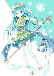 Rating: Safe Score: 31 Tags: mizumidori penguin thighhighs User: Radioactive