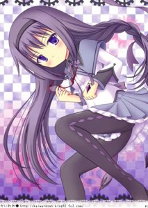 Rating: Safe Score: 14 Tags: akemi_homura kaiware pantyhose puella_magi_madoka_magica User: Hatsukoi