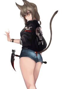 Rating: Questionable Score: 37 Tags: ah_dn3125 animal_ears ass blood megane nekomimi tail weapon User: mash
