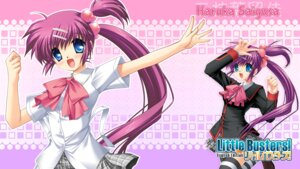 Rating: Safe Score: 8 Tags: hinoue_itaru key little_busters! saigusa_haruka seifuku thighhighs wallpaper User: marechal