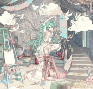 Rating: Safe Score: 76 Tags: hatsune_miku ixima vocaloid User: Mr_GT