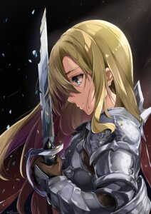 Rating: Safe Score: 18 Tags: armor sword tagme User: BattlequeenYume