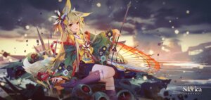 Rating: Safe Score: 8 Tags: animal_ears japanese_clothes sdorica_-sunset- tagme tail umbrella User: BattlequeenYume