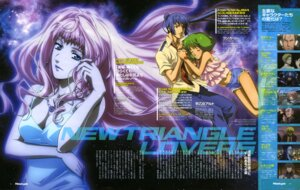 Rating: Safe Score: 9 Tags: cleavage dress macross macross_frontier marufuji_hirotaka ranka_lee saotome_alto sheryl_nome User: blooregardo