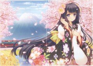 Rating: Safe Score: 10 Tags: crease fixme kimono nishimata_aoi User: k25c2yf