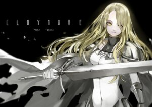 Rating: Safe Score: 33 Tags: claymore saberiii sword teresa User: zero|fade