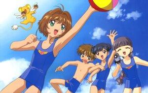 Rating: Questionable Score: 5 Tags: card_captor_sakura daidouji_tomoyo kerberos kinomoto_sakura li_meiling li_syaoran madhouse school_swimsuit swimsuits User: Omgix