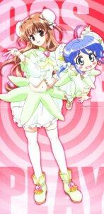 Rating: Safe Score: 7 Tags: bloomers cosplay crease dojikko_aki-chan nogizaka_haruka nogizaka_haruka_no_himitsu screening thighhighs User: Onpu