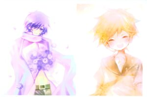 Rating: Safe Score: 8 Tags: kagamine_len kaito male shimeko vocaloid User: Radioactive