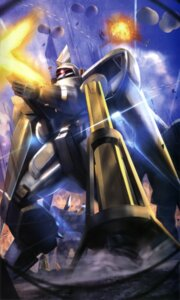 Rating: Safe Score: 2 Tags: ginn gun gundam gundam_seed mecha User: drop