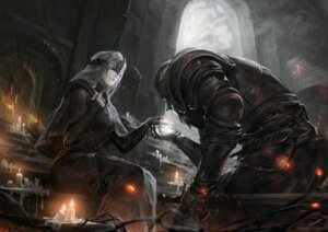 Rating: Safe Score: 40 Tags: alcd armor dark_souls dark_souls_3 dress fire_keeper sword User: Mr_GT