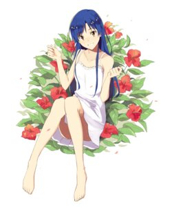 Rating: Safe Score: 46 Tags: dress feet kisaragi_chihaya summer_dress tagme the_idolm@ster User: Radioactive