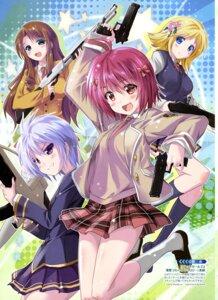 Rating: Safe Score: 31 Tags: bullet_girls bullet_girls_2 gun komatsu_e-ji seifuku User: drop