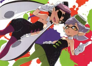 Rating: Safe Score: 20 Tags: dress fixed kanzaki_hiro pantyhose splatoon tabgraphics User: fireattack