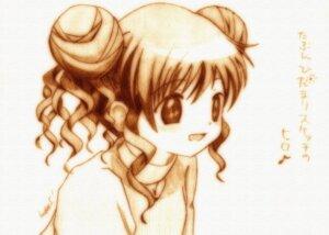 Rating: Safe Score: 4 Tags: godees hidamari_sketch hiro monochrome sketch User: charunetra