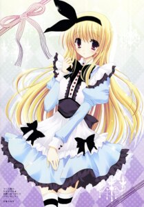 Rating: Safe Score: 45 Tags: alice alice_in_wonderland hasekura_chiaki lolita_fashion thighhighs User: petopeto