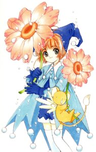 Rating: Safe Score: 5 Tags: card_captor_sakura clamp kerberos kinomoto_sakura thighhighs witch User: Share