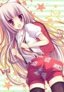 Rating: Safe Score: 27 Tags: fujiwara_no_mokou muku_(apupop) thighhighs touhou User: 椎名深夏