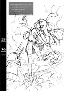 Rating: Safe Score: 6 Tags: 5_nenme_no_houkago ass heels kantai_collection kantoku monochrome rensouhou-chan shimakaze_(kancolle) sketch thighhighs thong User: Hatsukoi