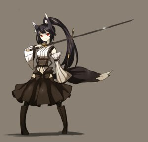 Rating: Safe Score: 33 Tags: animal_ears shirogane_usagi sword tail User: charunetra