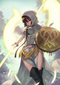 Rating: Safe Score: 24 Tags: fate/grand_order ortlinde_(fate/grand_order) thighhighs valkyrie_(fate/grand_order) weapon yasu_(segawahiroyasu) User: Nepcoheart