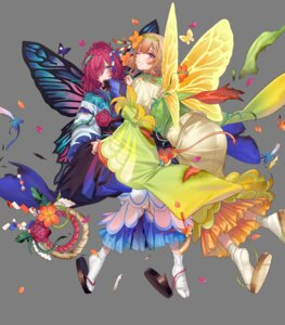 Rating: Safe Score: 9 Tags: fairy fire_emblem fire_emblem_heroes japanese_clothes kippu nintendo peony_(fire_emblem) pointy_ears tagme tattoo torn_clothes triandra wings User: Radioactive