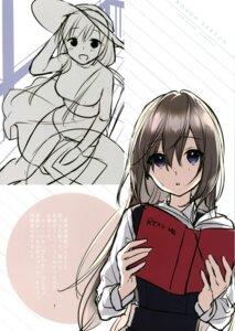 Rating: Safe Score: 9 Tags: masuishi_kinoto seifuku sketch tagme User: kiyoe