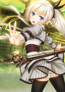 Rating: Safe Score: 38 Tags: ayatudura sword thighhighs User: donicila