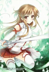 Rating: Safe Score: 37 Tags: asuna_(sword_art_online) sousouman sword sword_art_online thighhighs twinbox twinbox_(circle) User: Anonymous