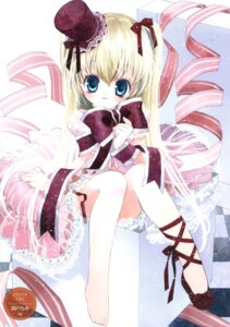 Rating: Safe Score: 13 Tags: dress feet lolita_fashion rami User: fireattack