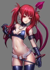 Rating: Questionable Score: 51 Tags: bikini_armor disgaea etna kim_jungon panty_pull pointy_ears tail thighhighs undressing wings User: 川俣慎一郎