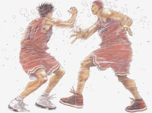 Rating: Safe Score: 8 Tags: male slam_dunk User: 落油Я