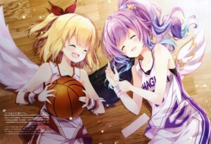 Rating: Questionable Score: 21 Tags: basketball mocha_(naturefour) shironeko_project tagme uniform wings User: Radioactive