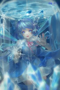 Rating: Safe Score: 15 Tags: cirno kamachi_kamachi-ko touhou wings User: charunetra