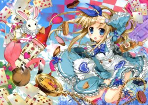 Rating: Safe Score: 36 Tags: alice alice_in_wonderland crease dress fixme fujima_takuya User: crim