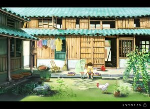 Rating: Safe Score: 13 Tags: landscape tonari_no_totoro totoro_(artist) User: hobbito