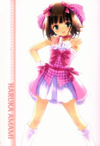 Rating: Safe Score: 11 Tags: amami_haruka goto-p the_idolm@ster User: petopeto