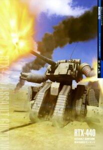 Rating: Safe Score: 5 Tags: gun gundam guntank mecha mobile_suit_gundam weapon User: drop