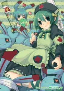 Rating: Safe Score: 9 Tags: eyepatch nurse seiju_natsumegu User: Hatsukoi