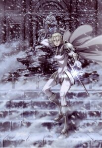 Rating: Safe Score: 12 Tags: armor claymore jean sword User: Radioactive