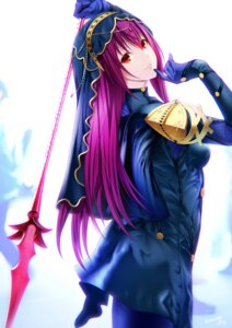 Rating: Safe Score: 36 Tags: armor bodysuit emanon_123 fate/grand_order scathach_(fate/grand_order) signed weapon User: mash