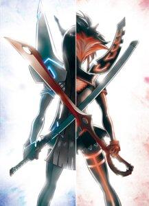 Rating: Safe Score: 44 Tags: junketsu kill_la_kill kiryuuin_satsuki matoi_ryuuko miyazawa0509 senketsu sword User: Zenex