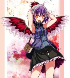 Rating: Safe Score: 14 Tags: s-syogo tokiko touhou wings User: charunetra