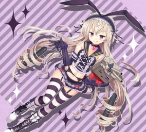 Rating: Safe Score: 77 Tags: erokosei gothic_lolita kantai_collection lolita_fashion pantsu rensouhou-chan shimakaze_(kancolle) stockings thighhighs User: fairyren
