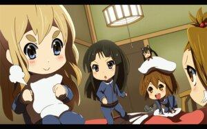 Rating: Safe Score: 17 Tags: akiyama_mio chibi hajime-ill-1st hirasawa_yui k-on! kotobuki_tsumugi nakano_azusa tainaka_ritsu User: Izuna