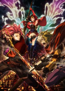 Rating: Safe Score: 26 Tags: amatori_biba bandages ikoma_(kabaneri) koutetsujou_no_kabaneri mumei sword tagme weapon User: saemonnokami