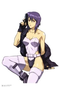 Rating: Safe Score: 16 Tags: ghost_in_the_shell kusanagi_motoko nakahara_hisahumi overfiltered thighhighs User: Wraith
