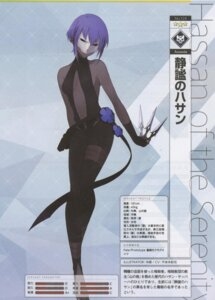 Rating: Questionable Score: 11 Tags: assassin_(fate/prototype:_fragments) bandages fate/grand_order no_bra pantyhose tagme weapon User: Radioactive
