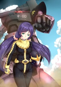 Rating: Safe Score: 16 Tags: bodysuit cru gundam love_live! mecha mobile_suit_gundam toujou_nozomi User: Mr_GT