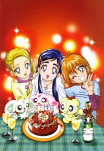 Rating: Safe Score: 5 Tags: dress futari_wa_pretty_cure kamikita_futago kujou_hikari mepple mipple misumi_nagisa pollun pretty_cure yukishiro_honoka User: drop